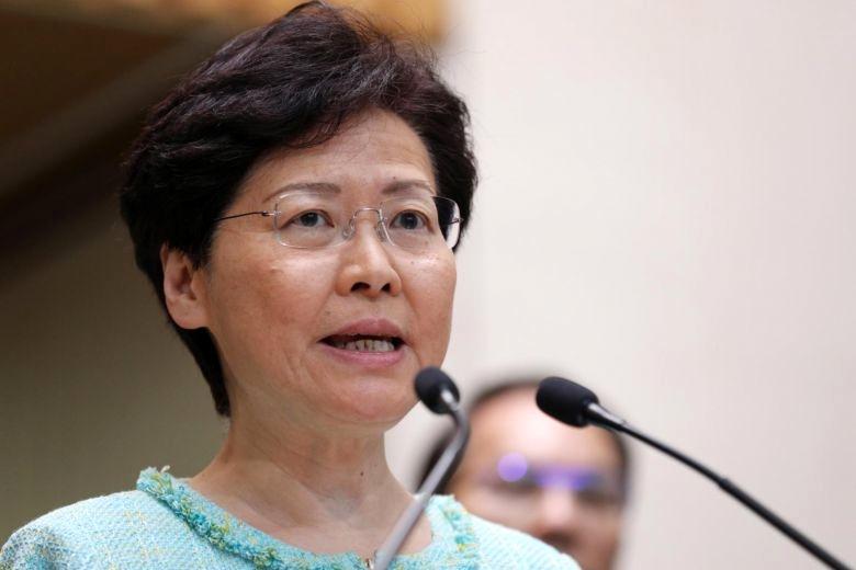 Trưởng đặc khu Hong Kong Carrie Lam. (Ảnh: EPA-EFE)