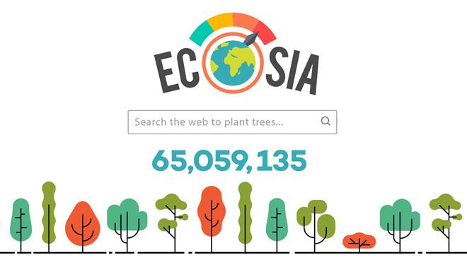 Góp sức cứu rừng Amazon chỉ bằng cách gõ phím - Ecosia (ảnh 1)