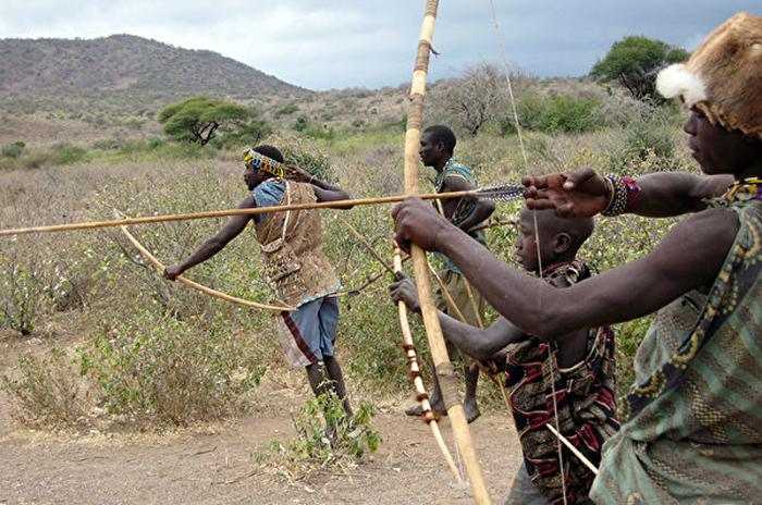 Hadza là một trong những bộ tộc săn bắn cuối cùng còn sót lại ở châu Phi. (Ảnh: Wikimedia Commons)
