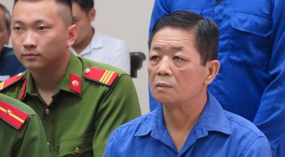Bị cáo Nguyễn Kim Hưng tại phiên tòa