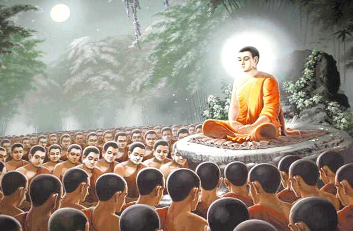 Một lần, Phật Thích Ca dẫn những người xuất gia đến bên cạnh hồ nước, hỏi mọi người có biết nhân duyên của con giun này hay không?