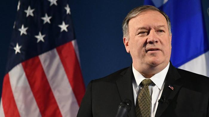 Ngoại trưởng Hoa Kỳ Mike Pompeo