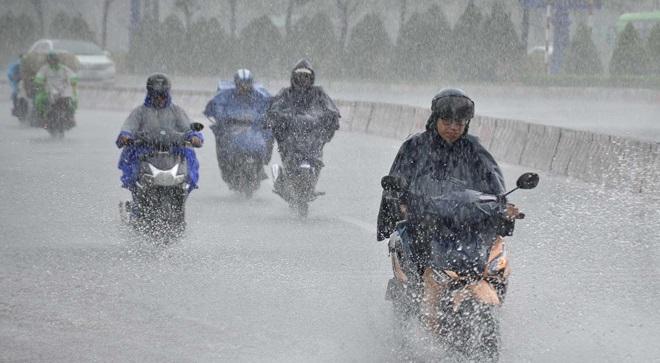 Áp thấp nhiệt đới mạnh lên thành bão Podul, thời tiết xấu đúng dịp lễ 2/9