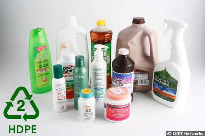 Số 2: có nghĩa là lượng HDPE - polyethylene có mật độ cao