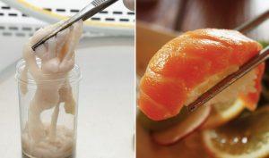 Hay ăn sushi, người đàn ông bị sán dây 1,5m ký sinh trong cơ thể
