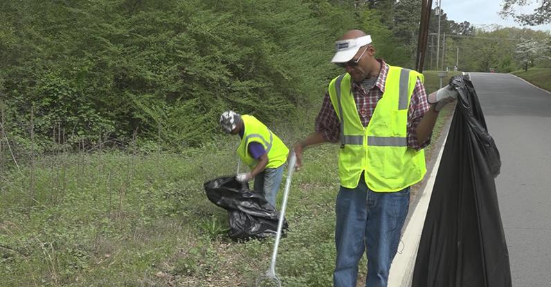 Người vô gia cư ở thành phố Little Rock đã có cơ hội nhận được việc làm và có cuộc sống ổn định hơn. (Ảnh qua We.com.mm)