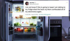 Bị mẹ thu điện thoại, cô bé 15 tuổi vẫn lén vào mạng xã hội bằng tủ lạnh thông minh