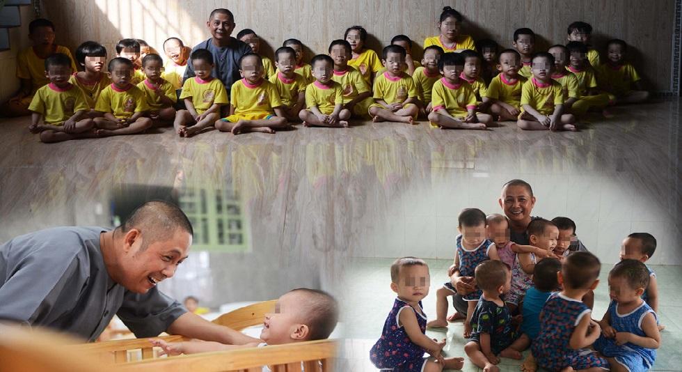 Người đàn ông độc thân lầm lũi nhặt gần trăm đứa con về nuôi