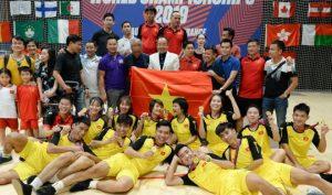 Việt Nam vô địch giải đá cầu thế giới lần thứ 10 tại Pháp