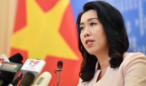Phản đối Trung Quốc tiếp tục xâm phạm vùng biển của Việt Nam