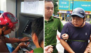 Nghệ An: Bắt 3 người Trung Quốc làm giả thẻ ATM, chiếm đoạt hàng trăm triệu đồng