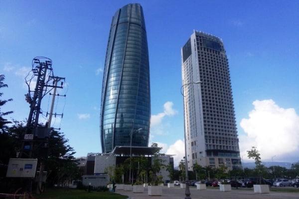 Trung tâm hành chính TP. Đà Nẵng.
