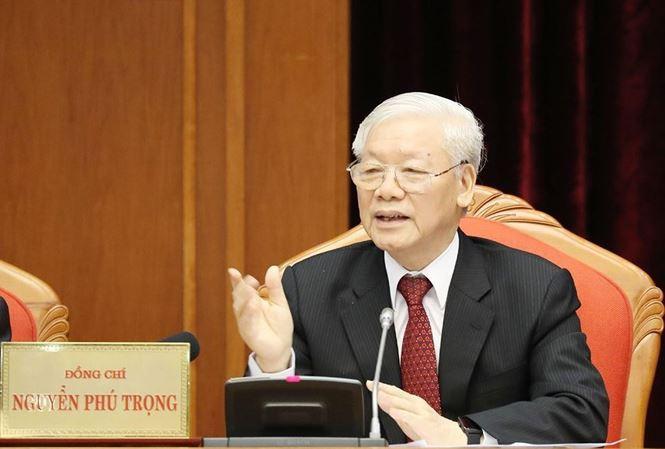 Tổng Bí thư Nguyễn Phú Trọng kỳ ban hành Quy định 205.