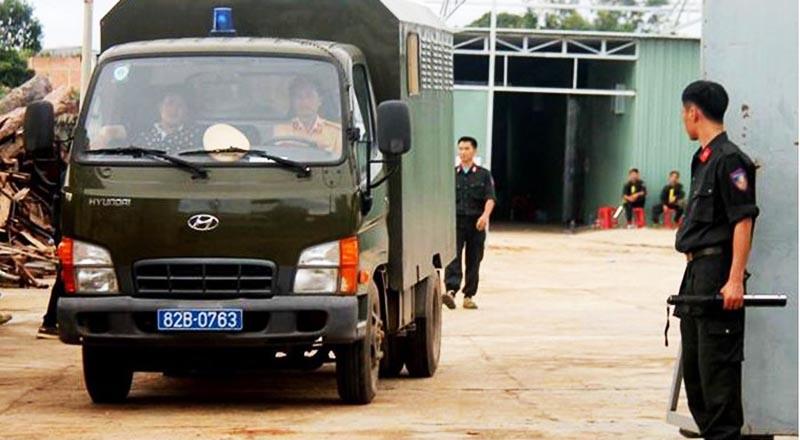 Trụ sở Công ty Đồng An Viên, nơi nhóm người Trung Quốc thuê lại để sản xuất ma túy.