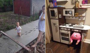 19 khoảnh khắc đáng yêu của con trẻ, khiến cha mẹ chỉ có thể vò đầu, bứt tóc