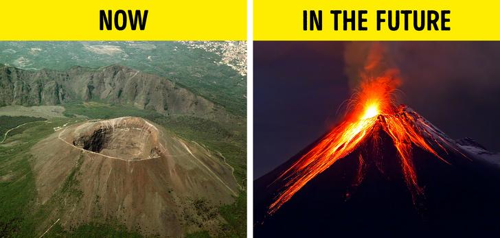 Vụ phun trào núi lửa Vesuvius mới nhất diễn ra vào năm 1944, đã cướp đi sinh mạng của 26 người.