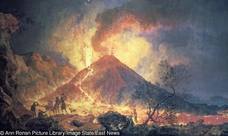 Vụ phun trào bắt đầu vào sáng ngày 24/8/79 (Sau Công nguyên)