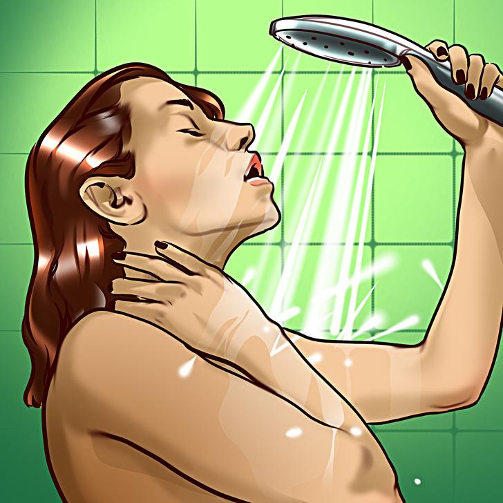 Sau khi tập luyện, nhiệt độ cơ thể của bạn thường tăng lên, vì vậy đừng chần chừ nếu bạn đang muốn đi tắm ngay cho mát.