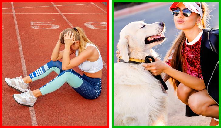 Hãy thư giãn sau khi tập thể dục.
