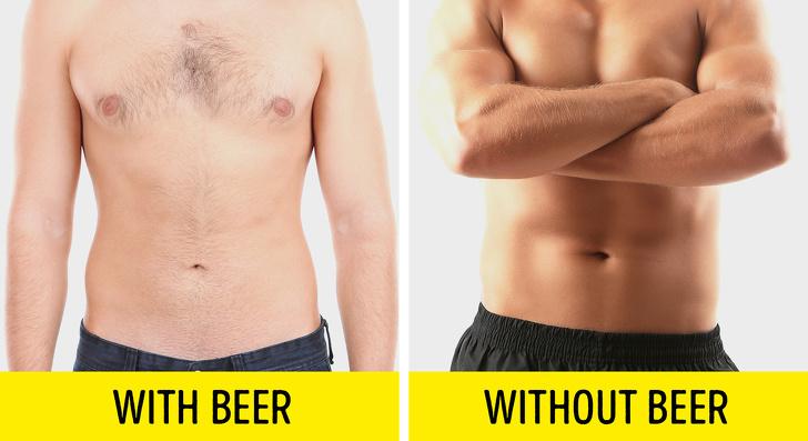 Các đồ uống có cồn sẽ làm ức chế sự phát triển của các cơ bắp, khiến bạn khó có thể đạt được kết quả như mong muốn.
