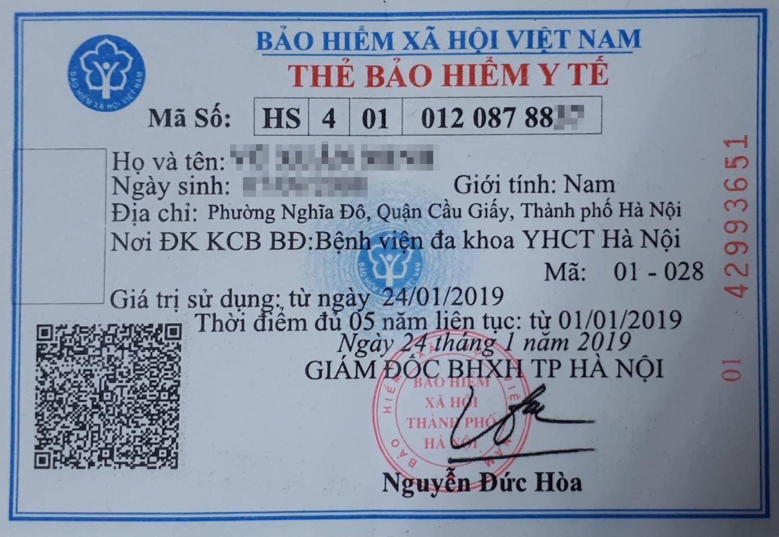 Thẻ BHYT. (Ảnh qua vietnamnet)