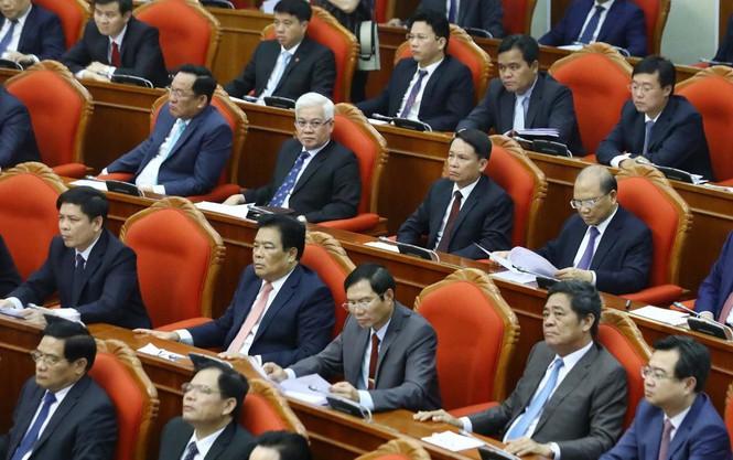 Các đại biểu tham dự Hội nghị Trung ương.