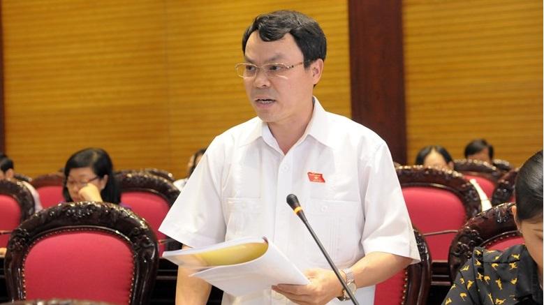 Ông Nguyễn Tiến Sinh, Phó trưởng Đoàn Đại biểu Quốc hội tỉnh Hòa Bình. (Ảnh qua media.quochoi.vn)