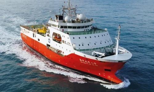 Kể từ ngày 12/7 đến nay, tàu Hải Dương Địa Chất 8 và nhóm tàu hộ tống của Trung Quốc đã 3 lần xâm phạm nghiêm trọng vùng biển Việt Nam. (Ảnh qua vnexpress)