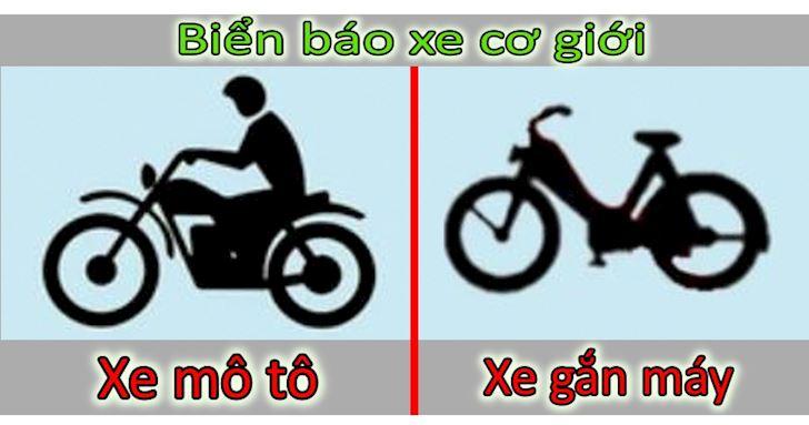 Phân biệt khái niệm về xe mô tô và xe gắn máy. (Ảnh qua oxii)