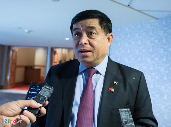 Bộ trưởng KH&ĐT Nguyễn Chí Dũng.