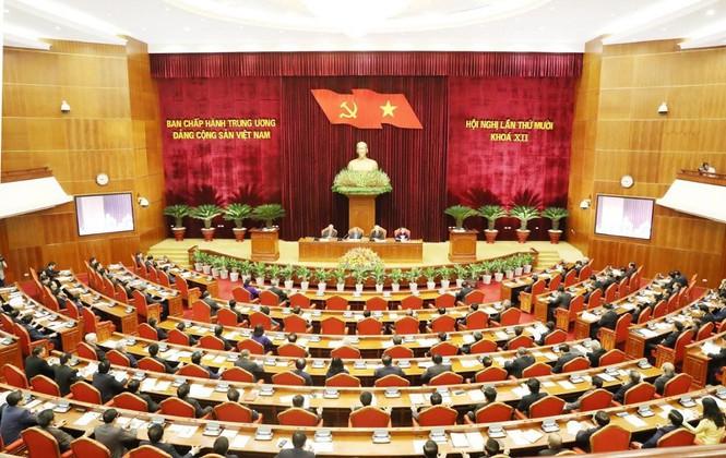Hội nghị trung ương lần thứ 10.