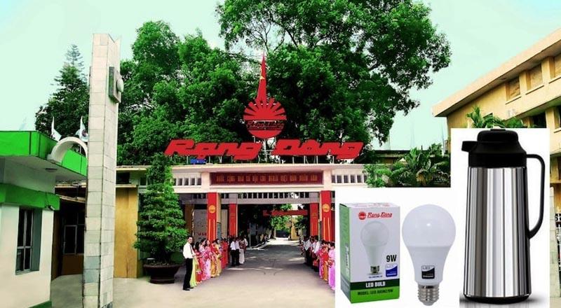Công ty CP bóng đèn phích nước Rạng Đông (Ảnh qua Wikipedia)