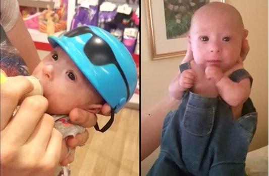 Cha mẹ Matthew quyết định mặc cho cậu những bộ quần áo của búp bê và gấu teddy 'Build-A-Bear'. (Ảnh qua theepochtimes)