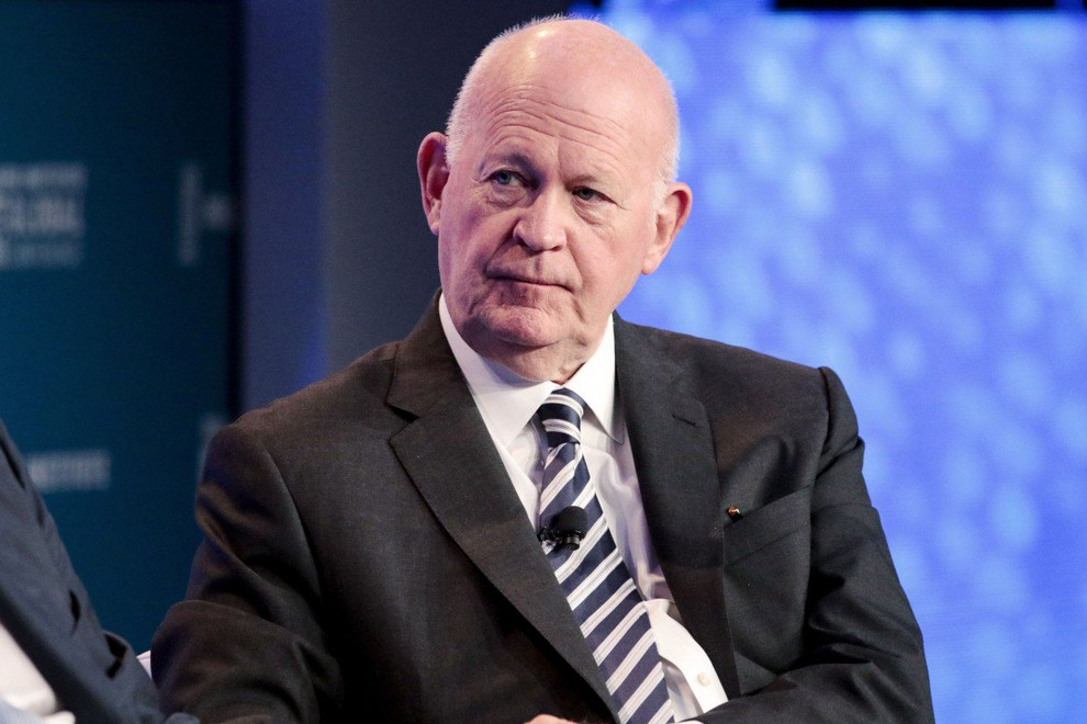 Ông Michael Pillsbury - Giám đốc Trung tâm Chiến lược Trung Quốc tại Viện Hudston ở Washington. (Ảnh qua vtc)