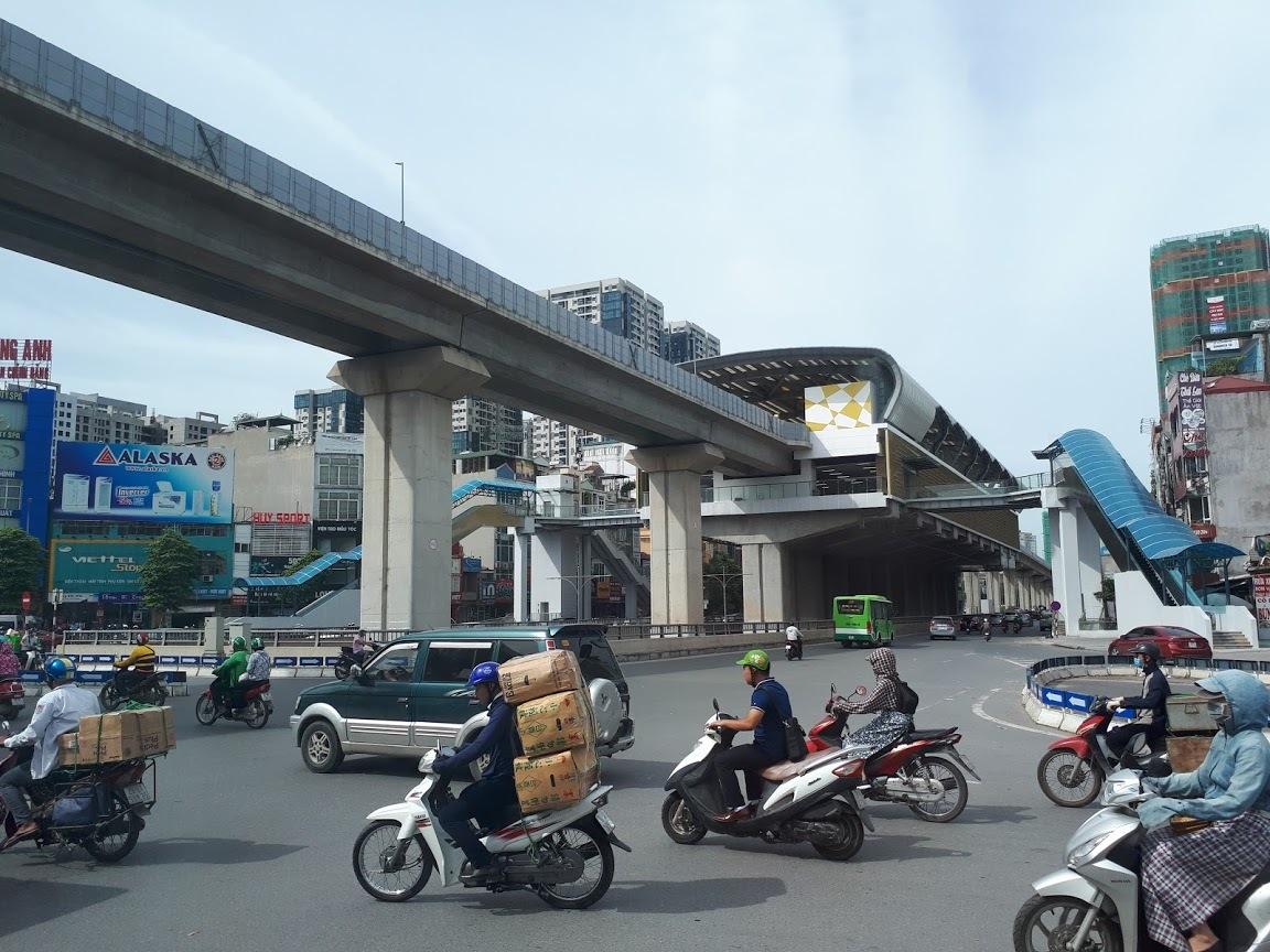 Nhiều sai phạm trong đầu tư dự án đường sắt Cát Linh -Hà Đông. (Ảnh qua tuoitre)