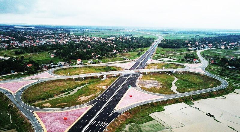 Dự án cao tốc Bắc - Nam. (Ảnh qua laodong)