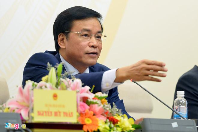 Tổng Thư ký Quốc hội Nguyễn Hạnh Phúc.