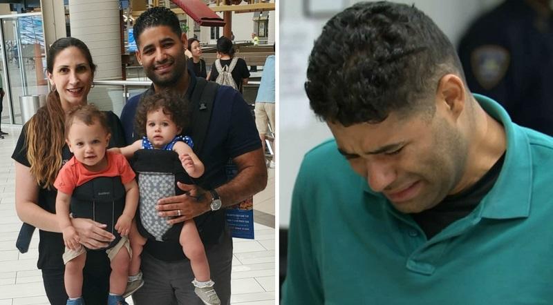 Người cha đau đớn phát hiện thi thể 2 con song sinh trong xe giữa trời nắng 90⁰C