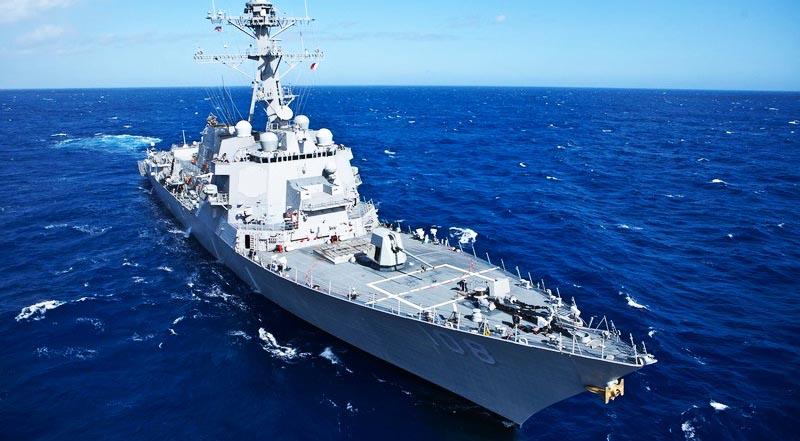 Khu trục hạm Wayne E. Meyer.