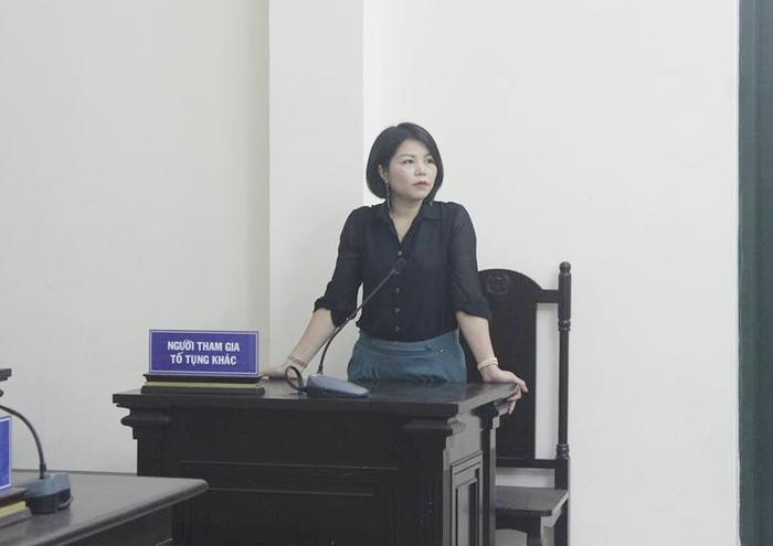 Bị cáo Vững tại phiên tòa hồi tháng 4 vừa qua.
