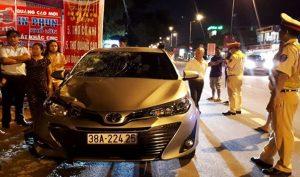 Hà Tĩnh: Chủ nhiệm UB Kiểm tra say xỉn lái ô tô tông chết người