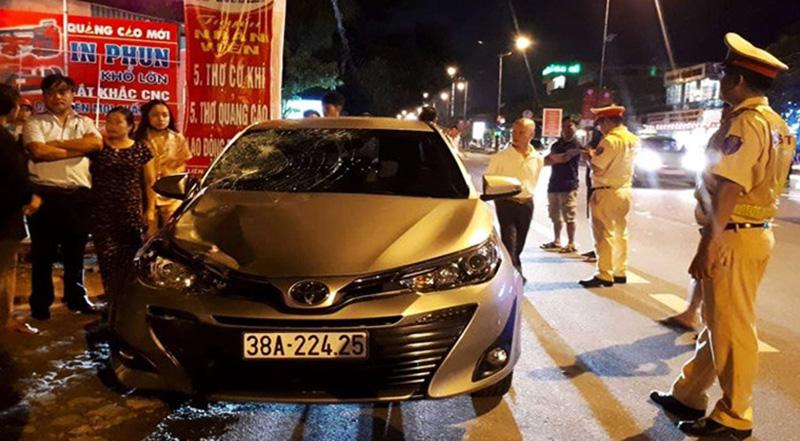 Chủ nhiệm UB Kiểm tra ở Hà Tĩnh có hơi men, gây tai nạn chết người.