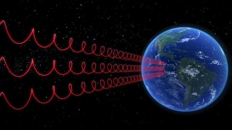 Những tín hiệu này có thể sinh ra từ một sự kiện vũ trụ lớn, và cũng có thể là tín hiệu từ một nền văn minh ngoài Trái đất. (Ảnh qua Play Stuff)