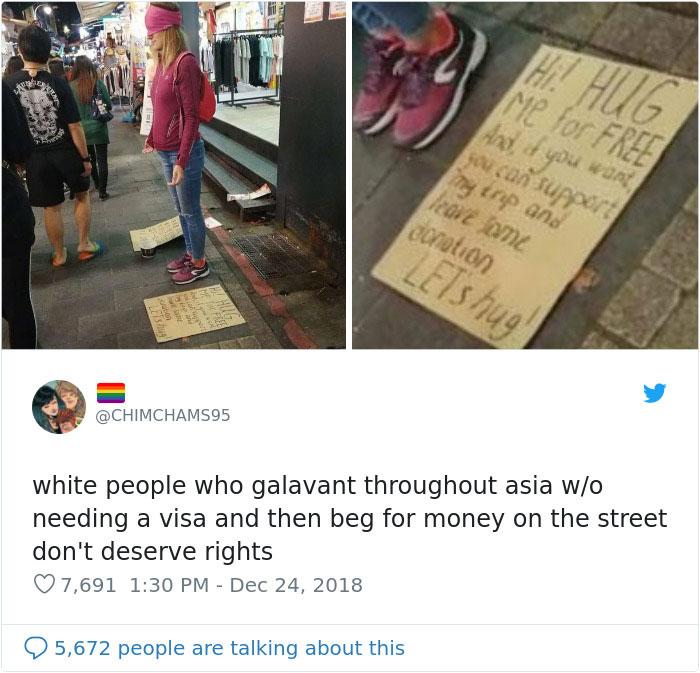 Thú vui mới của người trẻ: Không ngại ăn xin để có tiền đi du lịch?