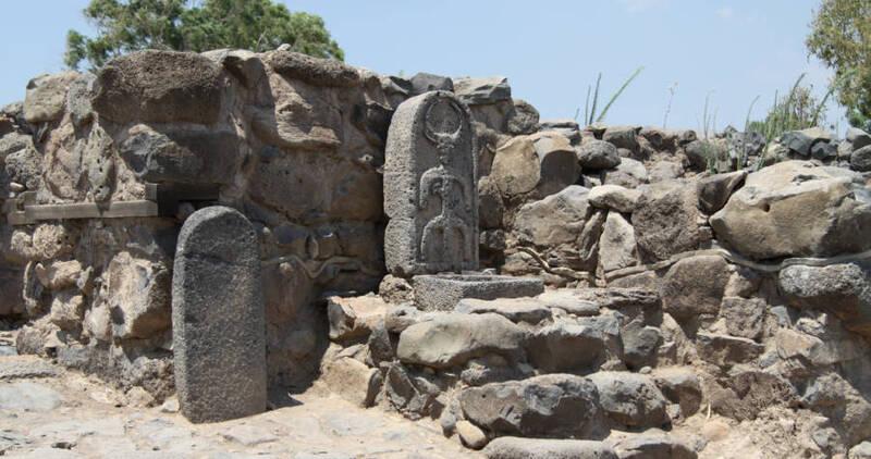 Tàn tích của làng chài Bethsaida được đề cập trong Tân Ước Kinh Thánh, phía bắc Biển hồ Galilê. (Ảnh qua The Vintage News)