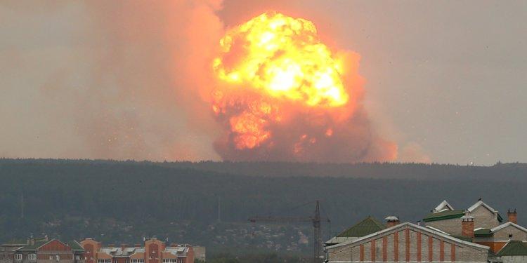 Lò phản ứng hạt nhân của Nga phát nổ khi đang cố gắng thử nghiệm tên lửa mới?