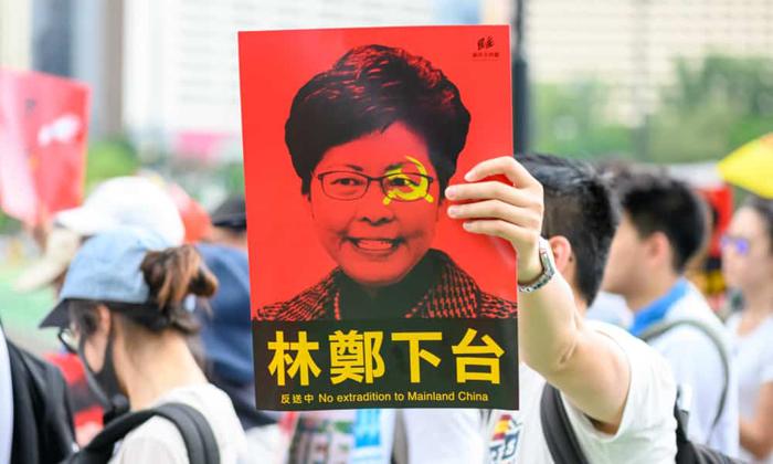 Người dân Hồng Kông biểu tình phản đối dự luật dẫn độ và yêu cầu bà Lâm Trịnh Nguyệt Nga từ chức.