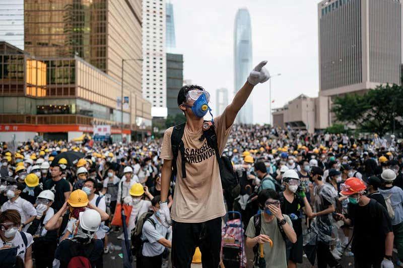 Biểu tình Hong Kong: Cuộc chiến Chính - Tà - ảnh 2