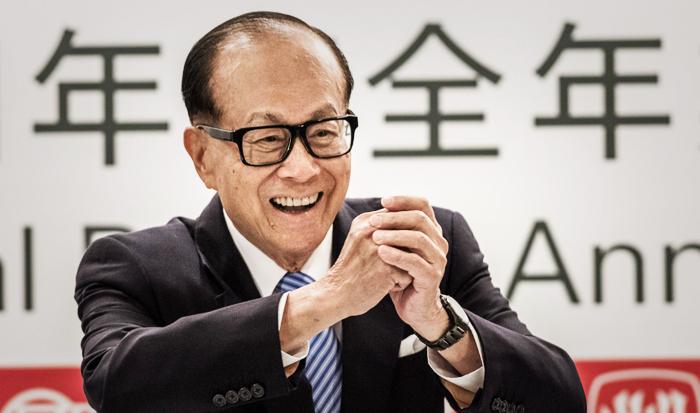 """Tỷ phú Hồng Kông Lý Gia Thành, ông đã nhìn thấy tương lai không phải là """"kế hoạch lớn ngàn năm"""". (Ảnh: Getty Images)"""