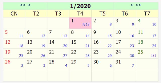 Lịch nghỉ Tết: Tết Dương lịch và Âm lịch 2020 được nghỉ mấy ngày?